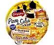 Pizza 4 quesos con salsa suave 365 g Campofrío