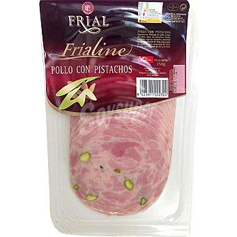 FRIAL FRIALINE Pollo con pistachos en lonchas Sobre 150 g