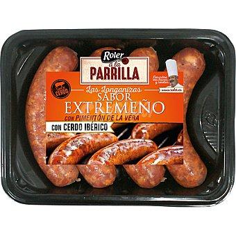 Roler A LA PARRILLA longanizas con cerdo ibérico sabor extremeño con pimentón de La Vera bandeja 320 g bandeja 320 g