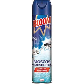 Bloom Insecticida volador para moscas y mosquitos instantaneo fragancia suave Spray 600 ml