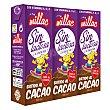Batido de cacao sin lactosa 3 unidades de 200 ml Millac