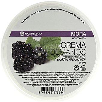 FLOR DE MAYO crema de manos Mora revitalizante tarro 150 ml