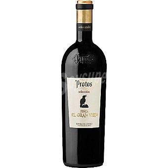 FINCA EL GRAJO VIEJO Selección Protos Vino tinto reserva 2009 D.O. Ribera del Duero botella 75 cl 2009 D