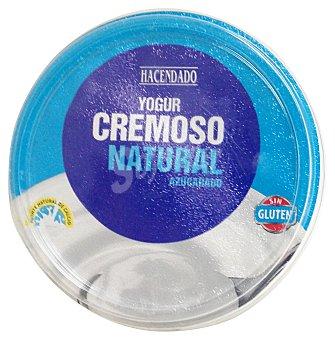 Hacendado Yogur cremoso natural azucarado u - 500 g