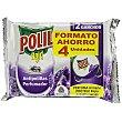 Antipolillas en colgador con aroma a lavanda 4 uds Polil Raid