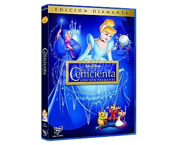 ANIMACIÓN Película en Dvd La Cenicienta, edición Diamante, Clásicos Disney. Género: infantil, familiar, animación. Edad: TP