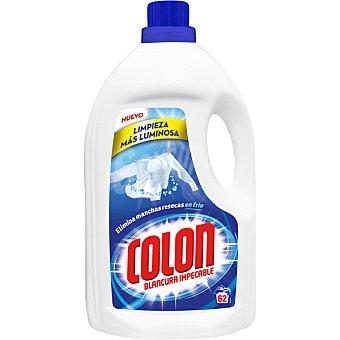 Colón Detergente máquina líquido gel Botella 62 dosis