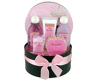 Gloss Cesta con productos de belleza corporal con aroma a vainilla y jengibre 1 unidad