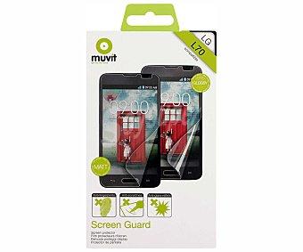 MUVIT Protector de pantalla 1 unidad