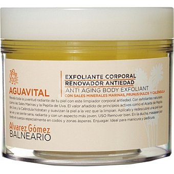 ALVAREZ GOMEZ BALNEARIO Aguavital Exfoliante corporal renovador Tarro 200 ml