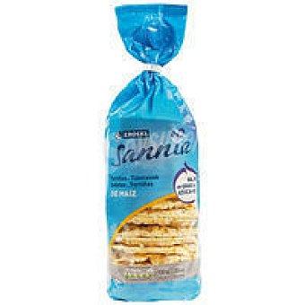 Eroski Sannia Tortitas de maíz Paquete 130 g