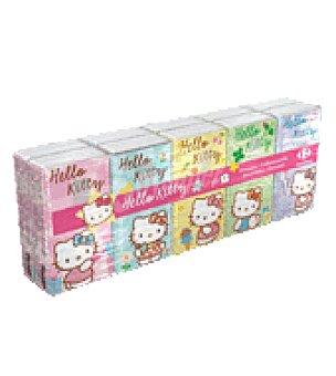 Carrefour Pañuelos de bolsillo Hello Kitty 9 ud