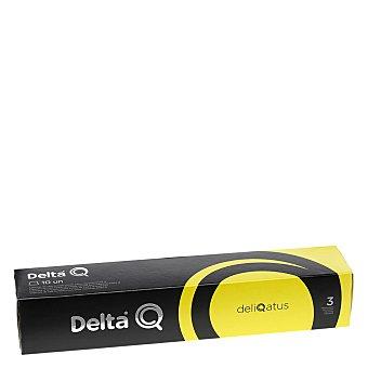 Delta Q Café molido natural en cápsulas deliqatus 10 unidades de 5,5 g