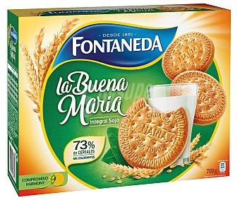 Fontaneda Galletas integrales con fibra y soja 700 g