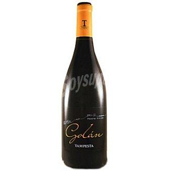 GOLAN Tampesta Vino tinto crianza en barrica de la Tierra de León Botella 75 cl