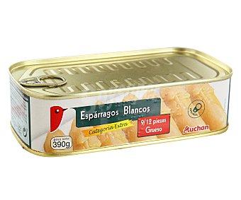 Auchan Espárragos blancos 8/12 piezas Lata de 250 grs