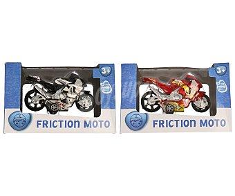 Productos Económicos Alcampo Surtido de motos con movimiento a través de fricción 1 unidad