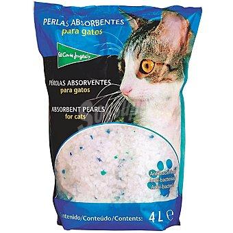 El Corte Inglés Perlas absorbentes para gatos Paquete 4 l