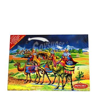 Miguelañez Calendario de Adviento 1 calendario con chocolatinas