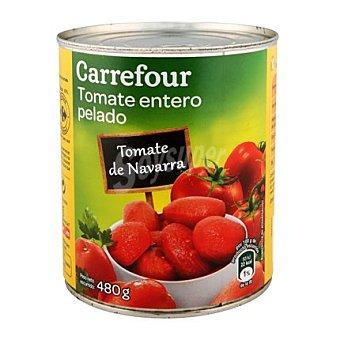 Carrefour Tomate natural pelado Bote de 480 g
