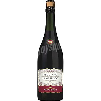 MEDICI Lambrusco Vino tinto dulce de Italia Botella 75 cl