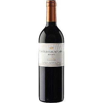 CASTILLO DE AGUARON Vino tinto reserva D.O. Cariñena elaborado para grupo El Corte Inglés Botella 75 cl