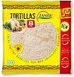 Tortillas trigo 8 unidades 320 g Zanuy