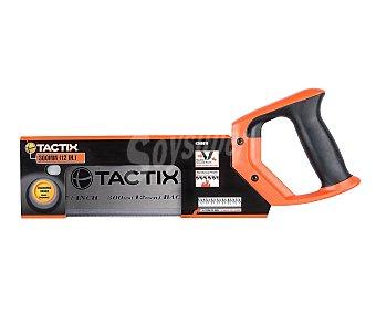 Tactix Sierra de Costilla con Doble Dentadura, 300 Milimetros 1 Unidad