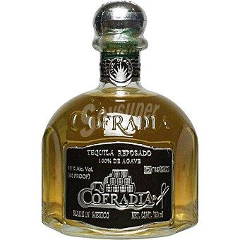 La cofradia Tequila reposado 100% de agave de México botella 70 cl 70 cl