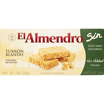 El Almendro Turron blando suprema 250 GR