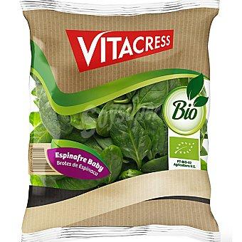 Vitacress Espinacas baby ecologicas Bolsa 150 g
