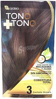 AZALEA Tinte coloración tono sobre tono Nº03 castaño oscuro 1 u