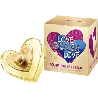AGATHA RUIZ DE LA PRADA Love Glam Love eau de toilette natural femenina Spray 50 ml