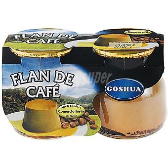 Goshua Flan de café Pack 2x125 g