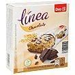 Barrita cereales integral chocolate negro caja de 6 unidades (129 g) DIA
