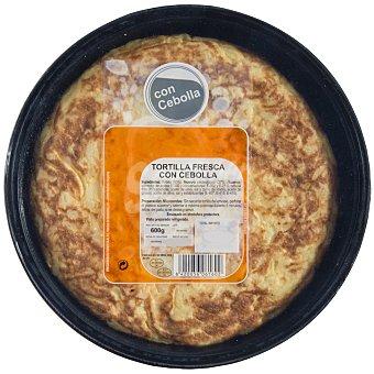 Tortilla con cebolla Unidad de 600 g
