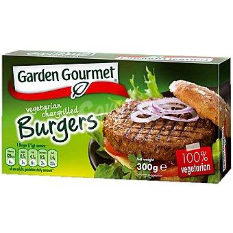 GARDEN GOURMET Hamburguesa de soja y proteína de trigo 100% vegetal Estuche 300 g