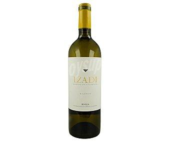 Izadi Vino blanco fermentado en barrica y con denominación de origen calificada Rioja Botella de 75 cl