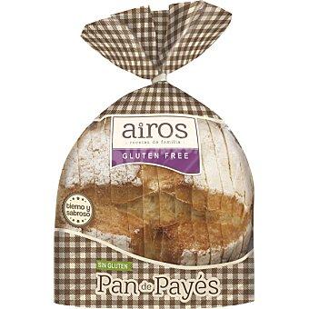 Airos pan de payés sin gluten y sin lactosa Envase 450 g