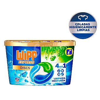 Wipp Express Detergente máquina 4 en 1 en cápsulas 10 uds Cápsulas 10 uds