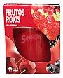 Vela perfumada vaso cristal frutos rojos 1 unidad Bosque Verde