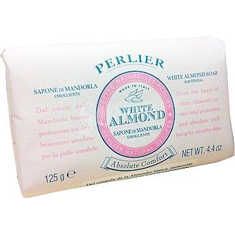 PERLIER White Almond Jabón neutro sólido Pastilla 125 g