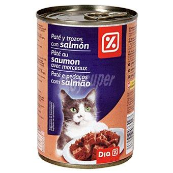 DIA Alimento para gatos pate salmon Lata 400 gr