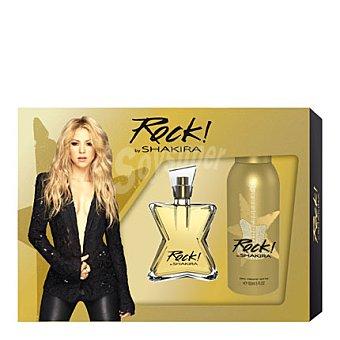 Shakira Estuche colonia Rock spray 50 ml. + desodorante 150 ml. 1 ud
