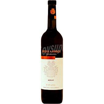 DELEA A MARCA Vino tinto merlot de Andalucía Botella 75 cl