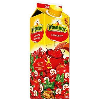 PFANNER Cranberry Zumo de arándanos rojos Envase 1 l