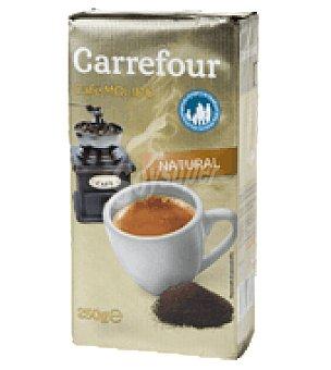 Carrefour Café molido natural sin vacio 250 g
