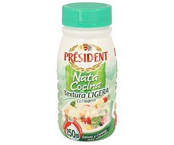 President Nata para cocinar ligera Bote 250 ml