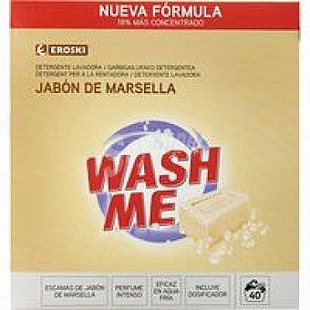 Eroski Detergente en polvo Marsella Maleta 40 dosis