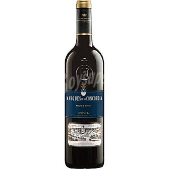 Marqués de la Concordia Vino tinto tempranillo D.O. Rioja Botella 75 cl